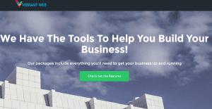 Vibrant web site Logo