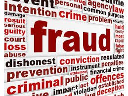 Fraud Banner for Scamsters and Fraud Online