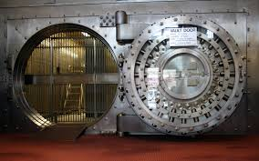 Internet Scams Fraud-Bank vault