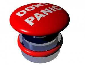 A Don't Panic Button for What Steps to Take if You Get Scammed