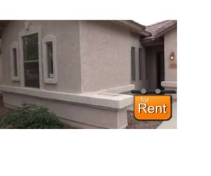 Image of house with for rent sign for Vacation Rental Scams