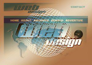 Website Builder Scams-Logo saying Web Design