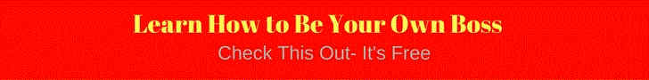 be your own boss check this out button