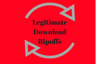 Circular arrows image for Legitimate Download ripoffs
