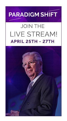Bob Proctor banner - Paradigm Shift Download for Live Stream