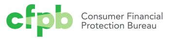 CFPB Logo For Bad Consumer Payday Loans