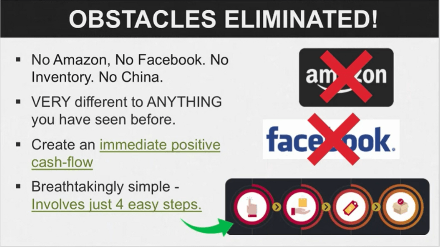 Display of the No Facebook Claims by Aidan and Steve