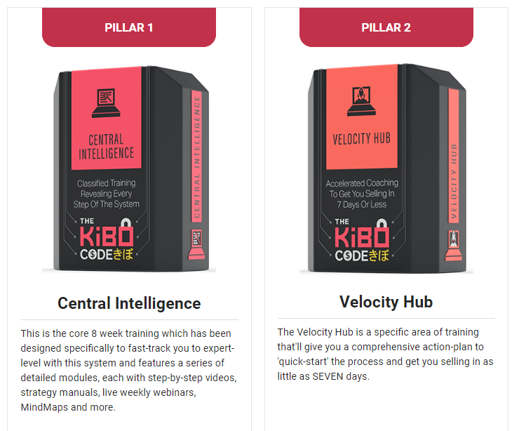 Pillars 1 and 2 of The Kibo Code VIP Edition
