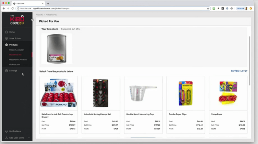 The Kibo Code Product Analyzer That Displays Winning Products Picked For You