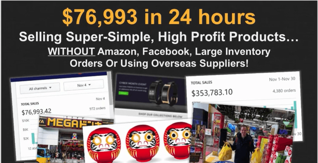 The Kibo Code Image Claiming $76,993 In 24 Hours