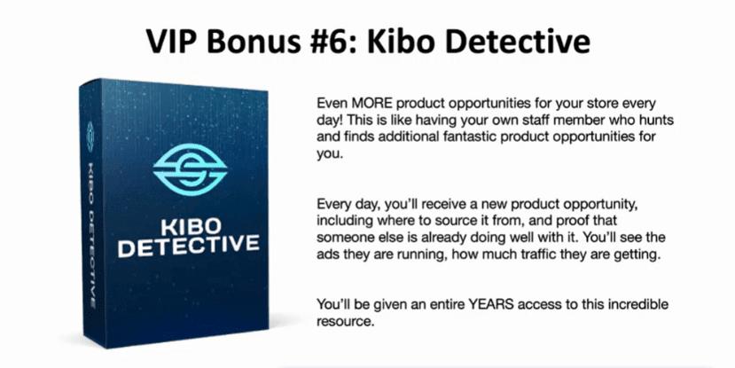 Kibo Detective Bonus 6