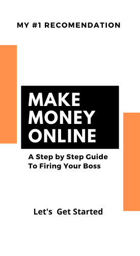 #1 Recommendation To Make Money Online