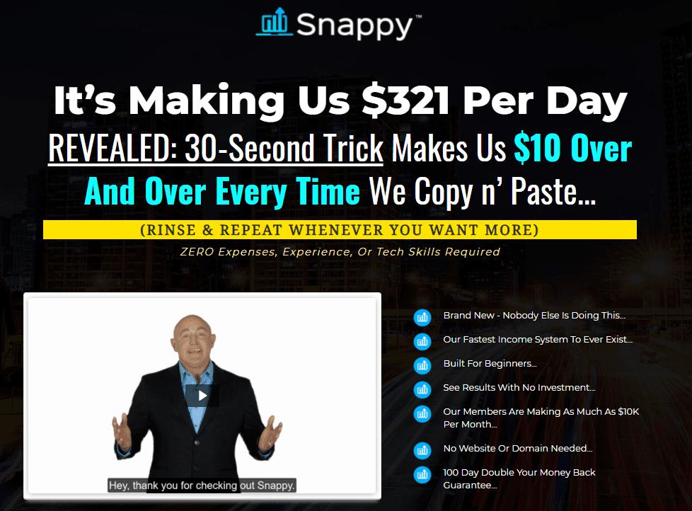 Venkata Ramana's Snappy Review Sales Page