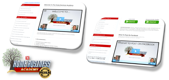 The Home Business Academy Premium Product Image